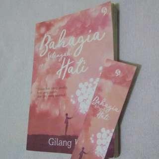 Novel Bahagia Setengah Hati