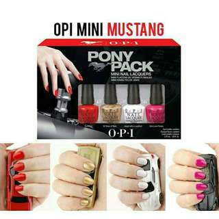 OPI mini ford mustang #mausupreme
