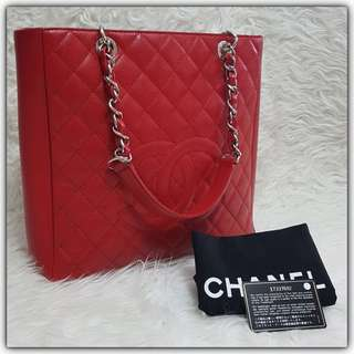Chanel PST XL Red SHW #17