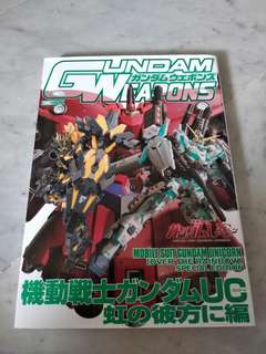 Mobile Suits Gundam Unicorn Niji no Kanata ni Hen  HOBBY JAPAN MOOK