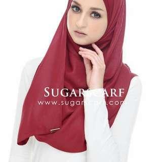 Sugarscart maroon glitter