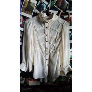 Korean Sheer Top (Long sleeves)