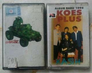 Cassette gorillaz & koes plus