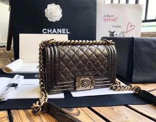 Chanel Leboy Bag 正品尾皮20cm