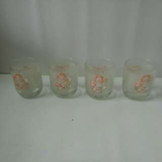 Garfield glass set