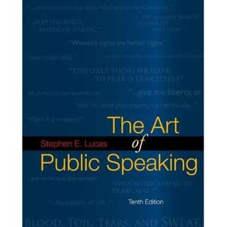 The Art of Public Speaking, 10th Edition (467 Page Mega eBook)