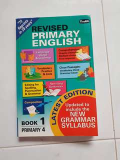 Primary English Book 1 Primary 4