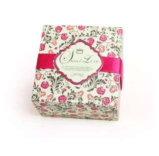 15 Pieces Ready Stocks Sweet Life Floral Door Gift Favors Box
