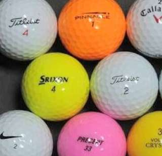 Assorted used, some new golf balls