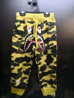 A Bathing Ape Kids Shark Pant