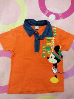 Disney polo shirt 1-2y
