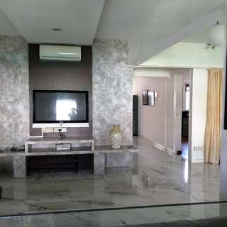 HAVE UNIQUE ENTRANCE & BOUGHT ADDITIONAL RECESS AREA, LIVING IS VERY SPACIOUS BECAUSE COMMON ROOM WAS REMOVED AND TOILET HAS A BATHTUB