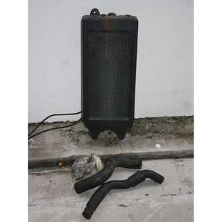 Honda Steed Radiator Working conditions with 2 hoses but no cap Price FIXED