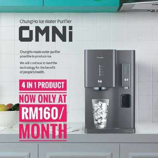 Chungho Penapis Air Dgn ICE Maker. Agent Wanted.