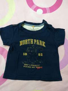 Poney T-shirt 12-18M