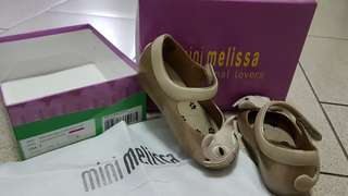Authentic Mini Melissa Ultragirl shoes