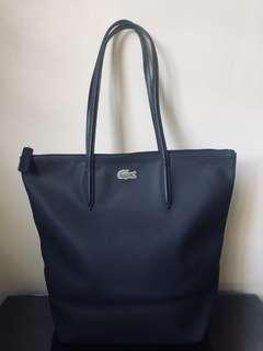 Authentic Lacoste Women's L.12.12 Concept Vertical Zip Tote Bag
