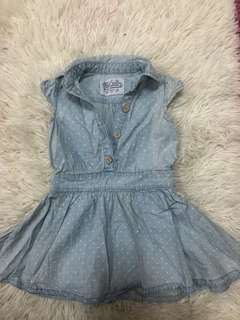 Baby Girl Jeans Dress