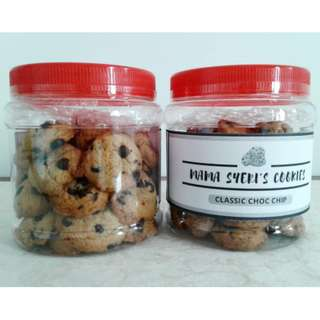 (HALAL) Classic Choco Chips Cookies
