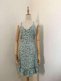 Blue Floral dress 🌸