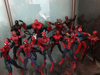 Spiderman collection mcfarlane legends