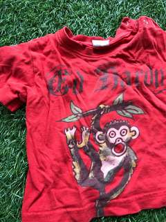 Ed hardy tshirt (faded)
