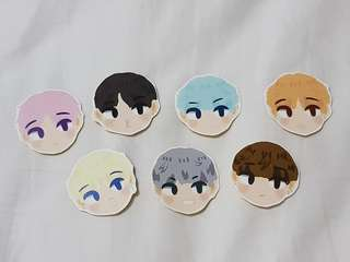 BTS Fanmade Stickers