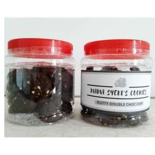 (HALAL) NUTTY DOUBLE CHOCO CHIPS COOKIES