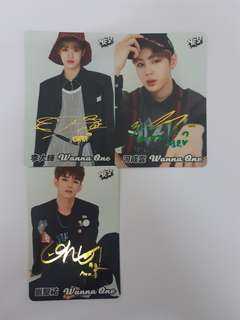 【Yes Card】Wanna One