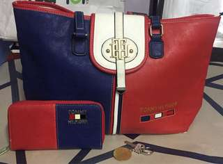 Tommy Hilfiger Bag&Wallet Take all( not authentic)