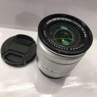 Fujifilm 16-50mm standard len