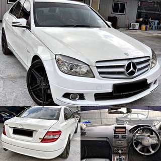 SAMBUNG BAYAR / CONTINUE LOAN  MERCEDES C250 1.8 CGI TURBO