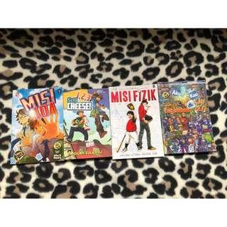 Malay Children Books/Comics [CHEAP}