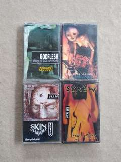 Industrial Set Cassette's