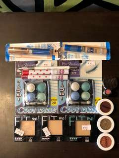 ALL ORIGINAL Make up Bundle