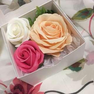 🆕玫瑰花香皂 加拿大帶回 花瓣香皂