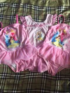 Disney!!! Bundle 3 Swimsuits