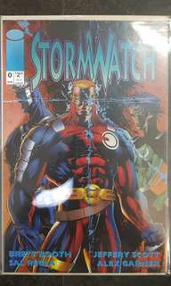 STORMWATCH #0 (image comics)