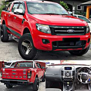 SAMBUNG BAYAR / CONTINUE LOAN  FORD RANGER 3.2 TURBO MANUAL