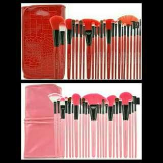 Brush set make up for you isi 24 pcs