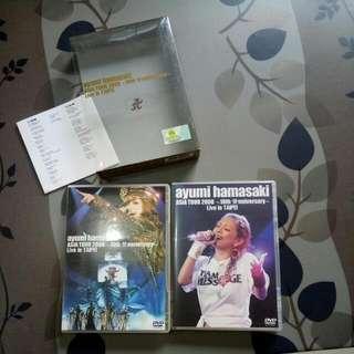 Ayumi Hamasaki Asia Tour 2008-10th Anniversary Live In Taipei  DvD