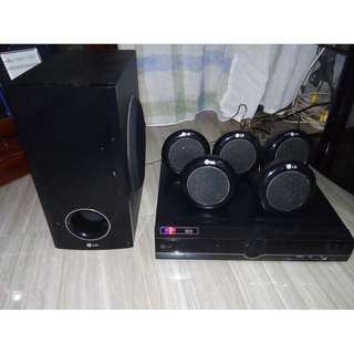 LG DVD Player & Sound System