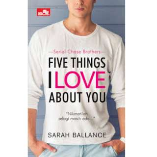 Ebook Five Things I Love About You - Sarah Ballance