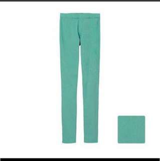 $15 M Size Uniqlo Women Legging Pants Blue