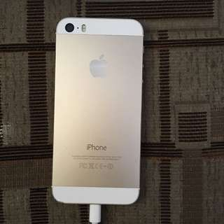 iPhone 5s 16gb gold no issue