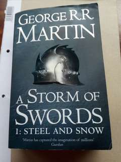 George R.R Martin A Storm of Swords 1:Steel and Snow