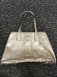 Coach Gold Bag