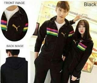 Black puma jaket