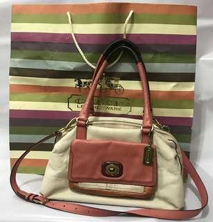 💯Coach bag leather