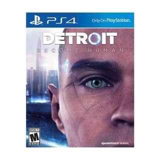 Detroit: Become Humanfor PlayStation 4 2018